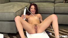 Sleek Alyssa Branch gives tremendous masterclass about masturbation issues