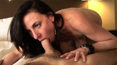 Karen Cougar is a cock-hungry chick who enjoys riding a prick