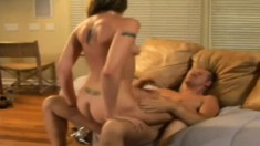 Pretty blonde can't help but moan while having her cooch drilled