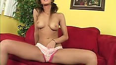 She is such a dirty girl and gets loud when she rides his cock