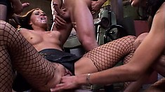 Young hotties are eager to get an audience with Christoph and his horny band of boys