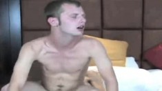 Lustful gay lovers Alex and Nick surrender their cocks to one another