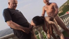 Victoria Sin gets the okay to ass fuck and suck dick in front of husband