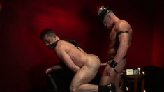 Kinky young gay stud wants to tie a guy up and choke on his rod