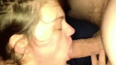 The ex girlfriend blowing vid one