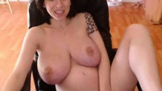 Big boobs girl cocksucking