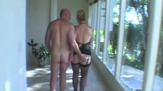 Mature Blonde Amateur Cowgirl Style Anal