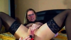 Shapely MILF gives us a reason to jerk off