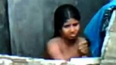 barishal girl bathing after masturbation