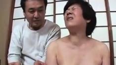 Giving Pleasure To A Japanese Gilf