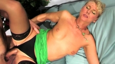 Mature Mom With Big Boobs Sexing Younger