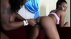 Chubby Black Lesbians Are A Gift From Heaven To Booty Lovers