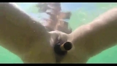 Bottle Insertions At The Nudist Beach