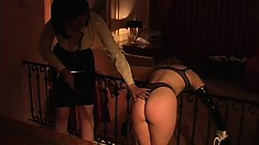 Mandi Slade and Sin D. are into bondage and do the tied up torture thing