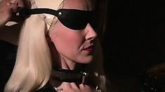 Dominatrix In An All Latex Scene, Teaches Her Subordinates Discipline