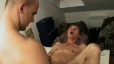 Young cadet sucks a long dick and gets his hungry ass fucked hard